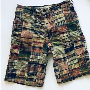 American Eagle Men's Patchwork Shorts size 32